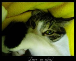 Leave me alone by Kheila