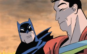 Batman and superman darwyn cooke inspired by tbag5