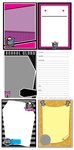 MH: Card Templates Pack by KPenDragon