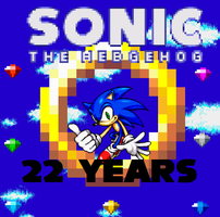22 Years Of Sonic The Hedgehog by Somcothehedgehog