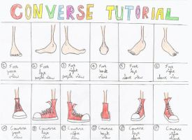 Converse Tutorial by nelfalot