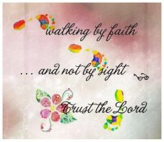 Trust the Lord by marjol3in