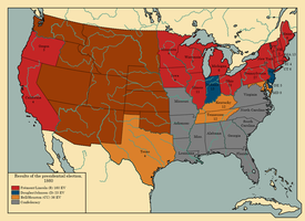 The United States presidential election of 1860 by TheAresProject