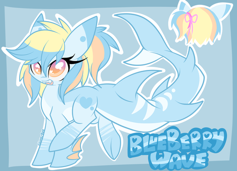 Sharkpony Custom Adopt by StarlightLore