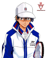 Ryoma Echizen - Prince of Tennis - Render by Obedragon