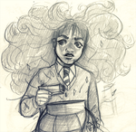 Hermione | Potion Disaster by natmorais
