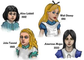 Alice, Alice, and Alice by Marduk44