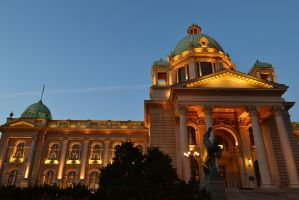 The Serbian Parliament by TheNimster