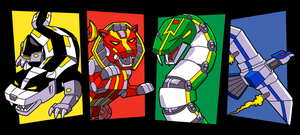 House Zords Full Color by DangerPins