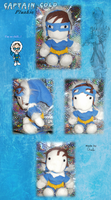 Captain Cold Plushie by Oracle01