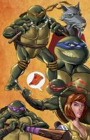 Turtle Power by KR-Whalen