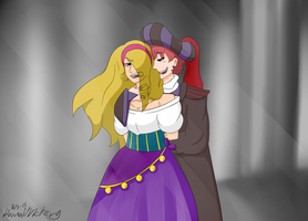 The Hunchback of Notre Dame - crossover Sasodei by KawaiiVictory
