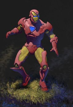 Iron-man by androsm