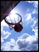 Basketball by zwiebelfarmer-de