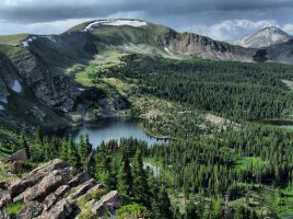 Waterdog Lakes Basin HDR by smokerphotos