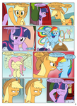 MLP FIM STARS Chapter-3 STARting Page-21 by MultiTAZker