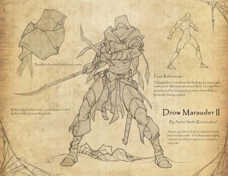 Drow Marauder II commission by revoincubus