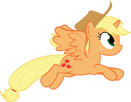 Allicorn Applejack Small by donnybuy
