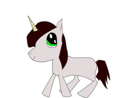 Hitsuji-chan15 Pony :D or unicorn really (2) by XxwhitewolffirexX