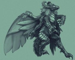 Monster: Gildawraith by Silverbirch
