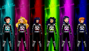 TS A-Squad for Andr-Uril by rangeranime