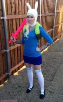 Fionna Cosplay Adventure Time by glitzygeekgirl