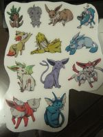 Pokemon Stickers by EnchantedTopaz