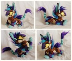 Dee Plushie by foxpill