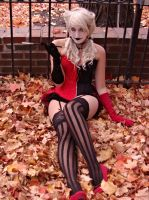 Harley Quinn: Our town of Halloween by Deviyantee