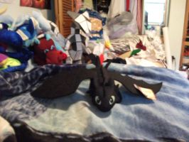 my deluxe toothless plush by legendarydragonstar