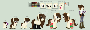 Hopeful Dreamer Ref Sheet by HopeForTheFuture13