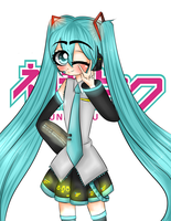 Hatsune Miku by PurpleF