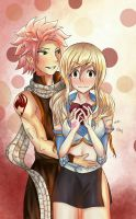 NaLu- Valentines Day by eruzayne