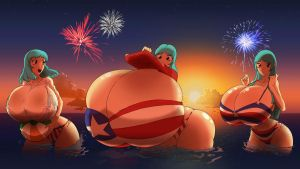 4th of July with the Mizuumis by CRUBAT