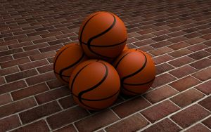 Basketballs 3D Model0034 by PlaviDemon