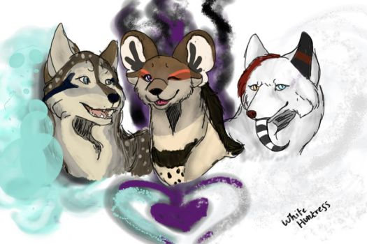 { The Gang } by Whitehuntress
