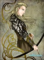 The Hobbit - Legolas by Neldorwen