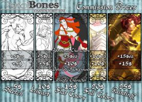 Commissions Guide by PencilBones