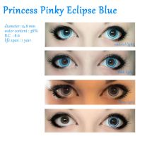 Princess Pinky Eclipse BLUE // review by XRavenheart
