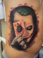 The Joker Tattoo by reno7x