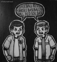 Yankees Scout vs Red Sox Scout by XxTheSmittenKittenxX