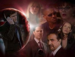Criminal Minds-The Team-Reid by LuluDarling