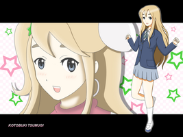 K-ON - Kotobuki Tsumugi by solemnius