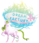 Dream Factory Shop sign by JavaLeen