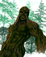 Swamp-Thing. by wraith2099