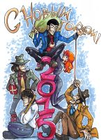 Lupin 2015 by Dasha-KO