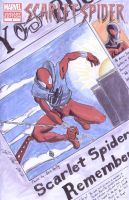 Scarlet Spider Ben Reilly Sketch Cover by shinlyle