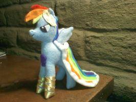 Rainbow Dash in Grand Galloping Gala Gown by russkyguy1917