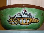 Catbus Ice Cream Holder by WingsofMemories