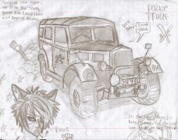 Police Truck by King-of-Earth